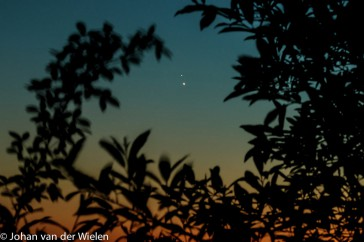 Jupiter en Venus; Jupiter and Venus