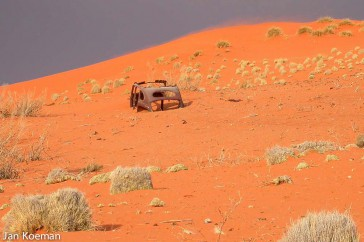 Rust roest Namibia
