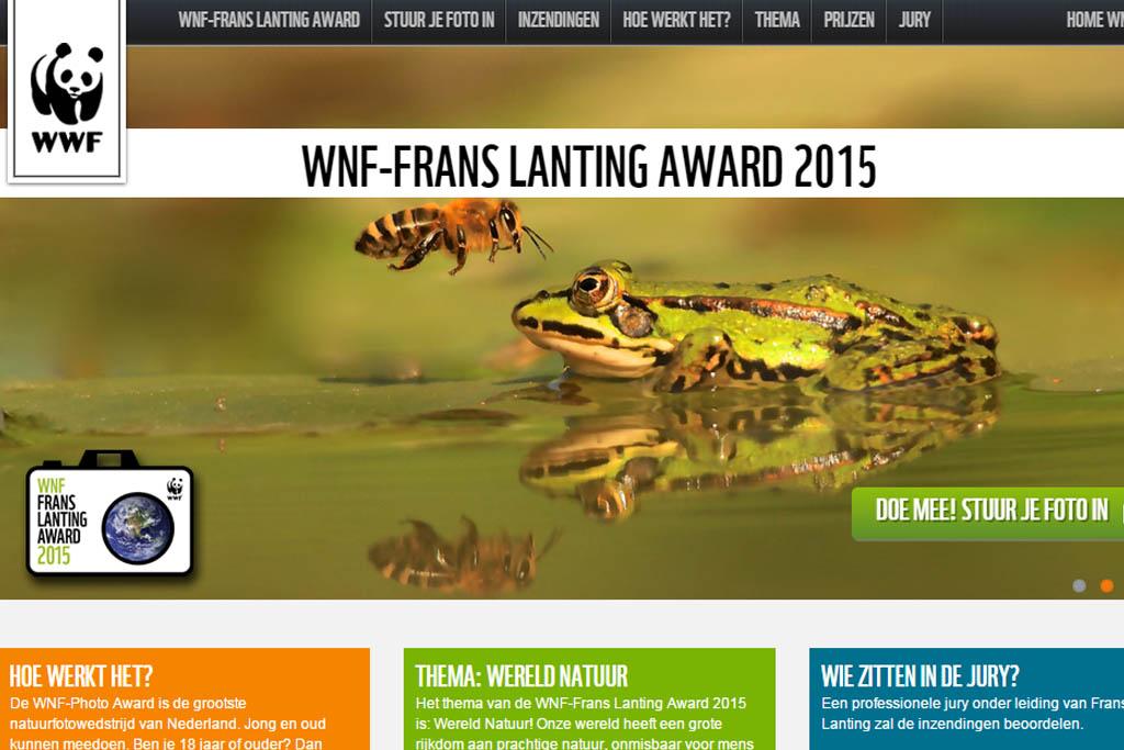 WNF-Frans Lanting Award, de laatste kans