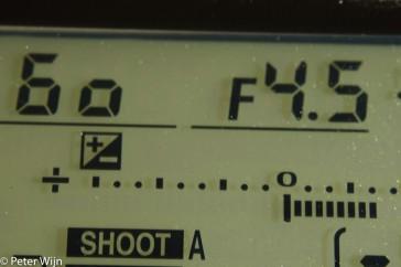 Automatisch is handig zolang het automatisch doet, wat jij als fotograaf wilt. Wil de camera iets anders, dan moet je ingrijpen.