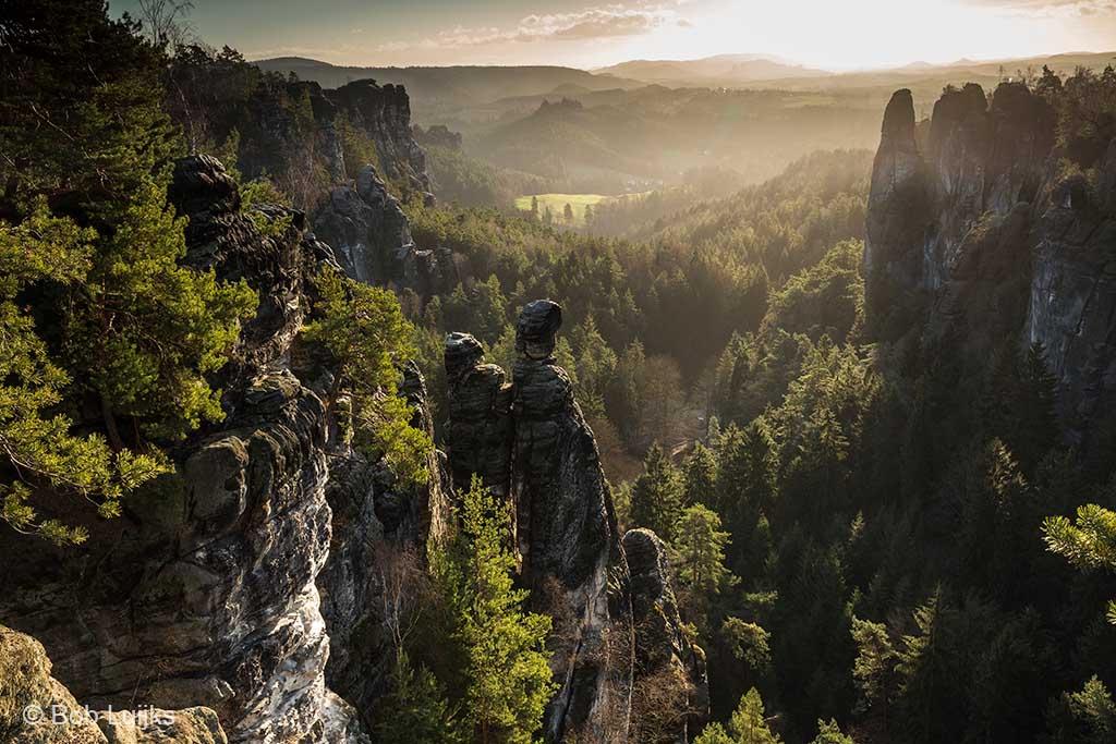 De Sächsische Schweiz in beeld