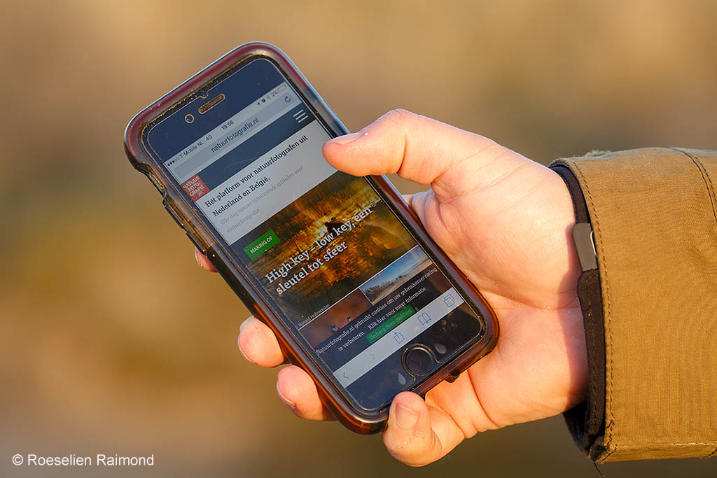 Natuurfotografie apps Roeselien