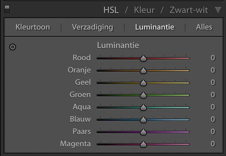 Lightroom module Ontwikkelen (3)