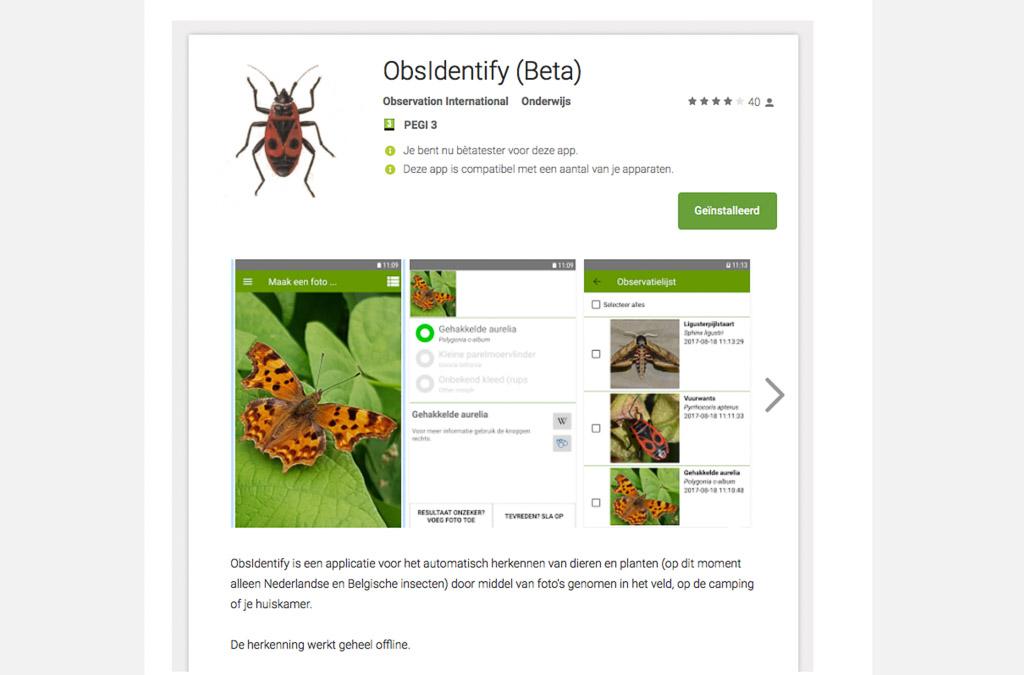 Insectenkenner in je broekzak natuurfotografie - Kleur opzoeken ...