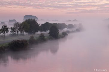 Misty Sunrise at the River