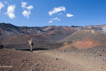 Vulkaan Haleakala Hawaï
