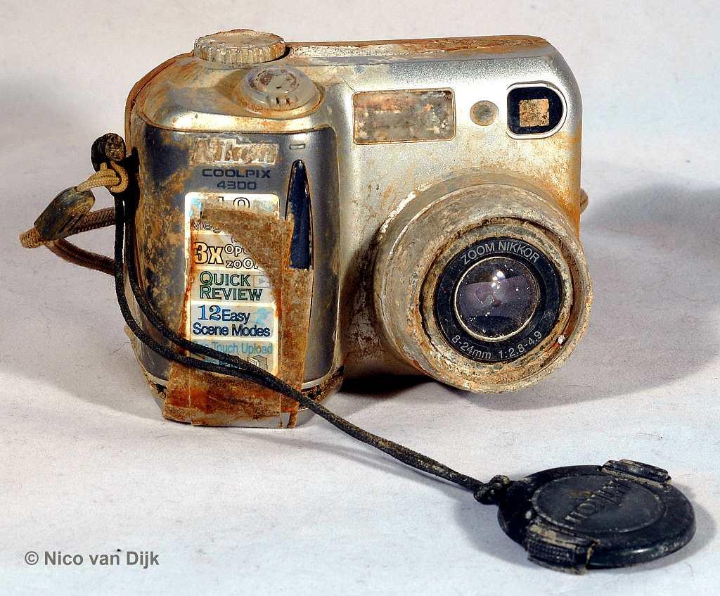 Nikon camera wrak