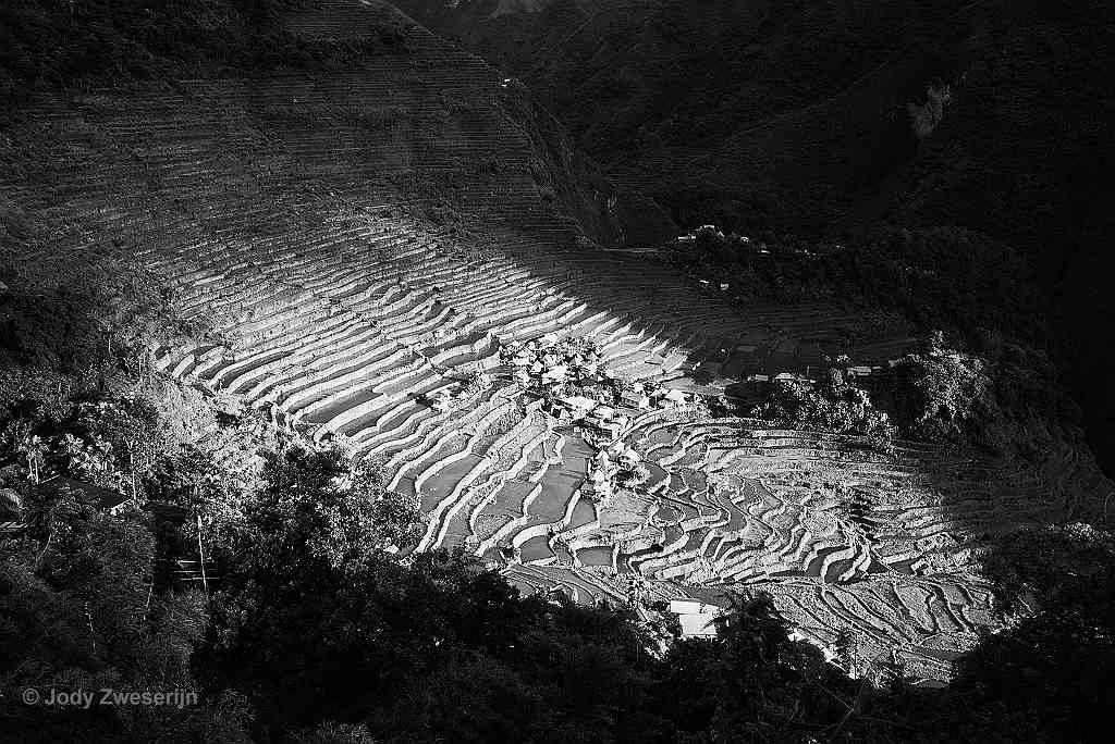 Rijstterassen op Luzon Filipijnen