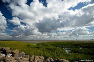 wolken boven Schier
