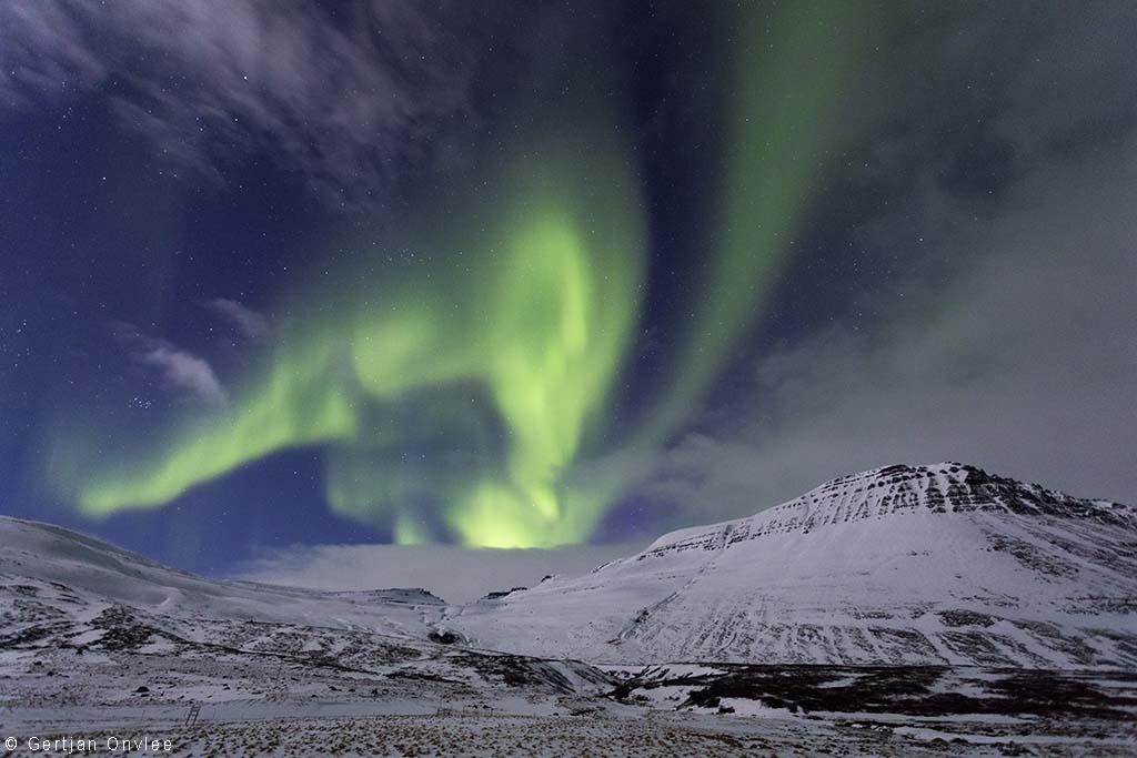 Noorderlicht, IJsland