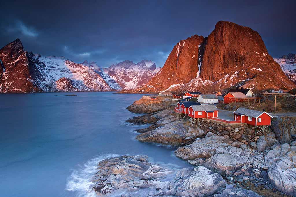 Hamnøy Noorwegen