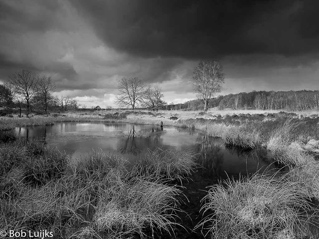 Zeer Zwart-wit landschappen - Natuurfotografie @HM34