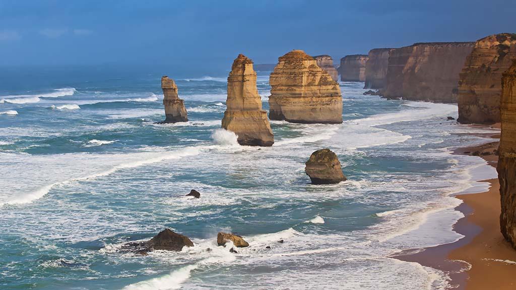 The twelve apostles Victoria Australië