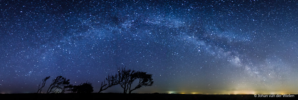 Panorama van de Melkwegboog