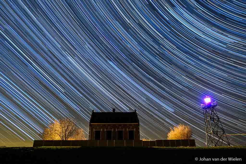 Op pad in de nacht… je vergapen aan de nachtelijke hemel op Wereld Erfgoed Schokland