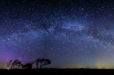 Noorderlicht, Melkweg en… lichtvervuiling
