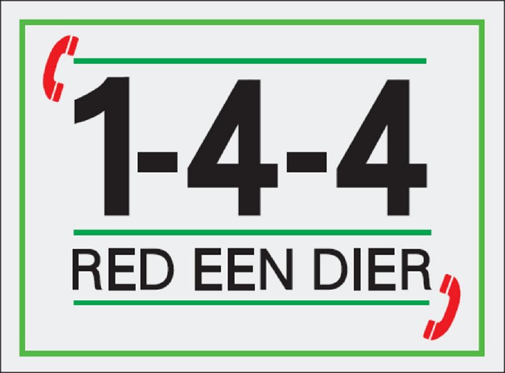 144 red een dier