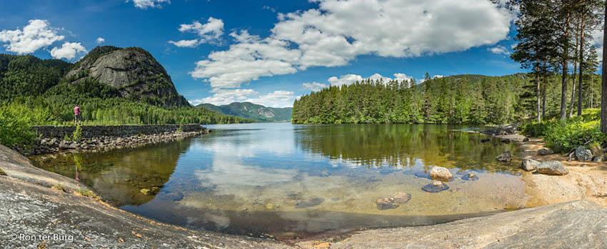 Noorwegen Arkasfjord