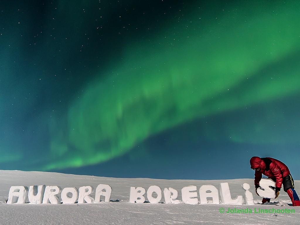 Aurora Berealis Jolanda Linschooten