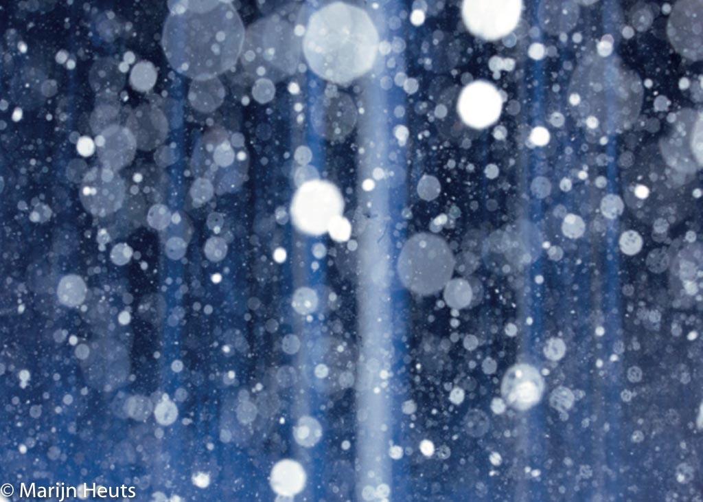 sneeuw flitsen