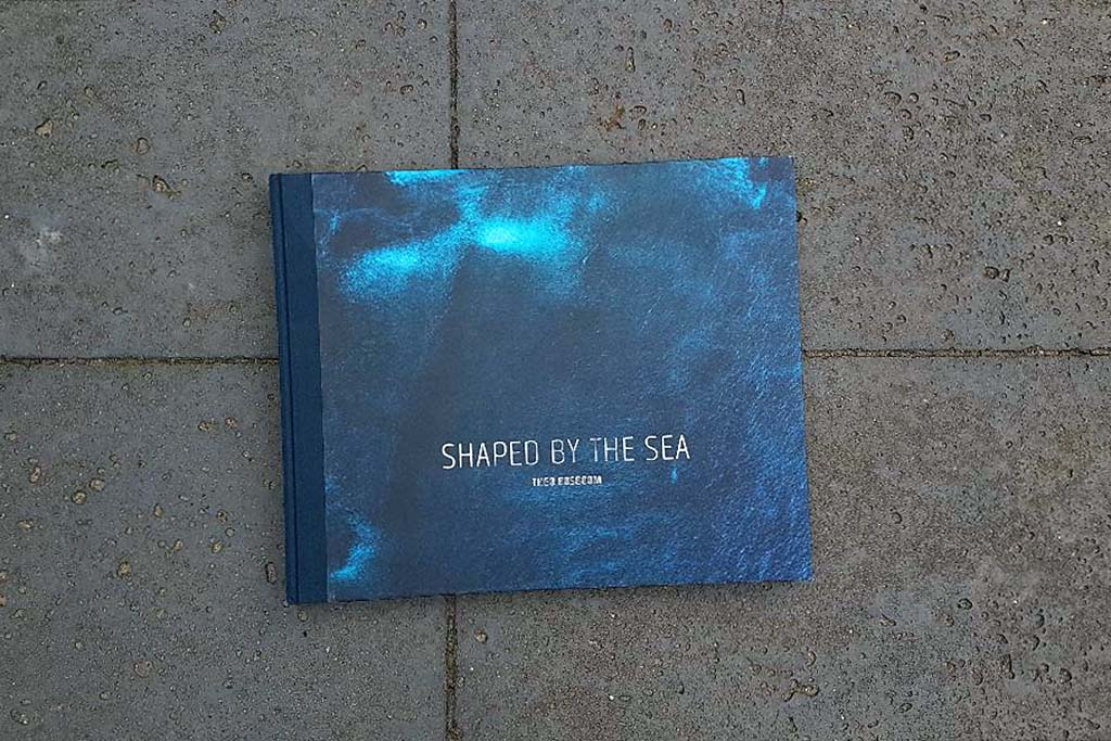 Boek Shaped by the sea van Theo Bosboom