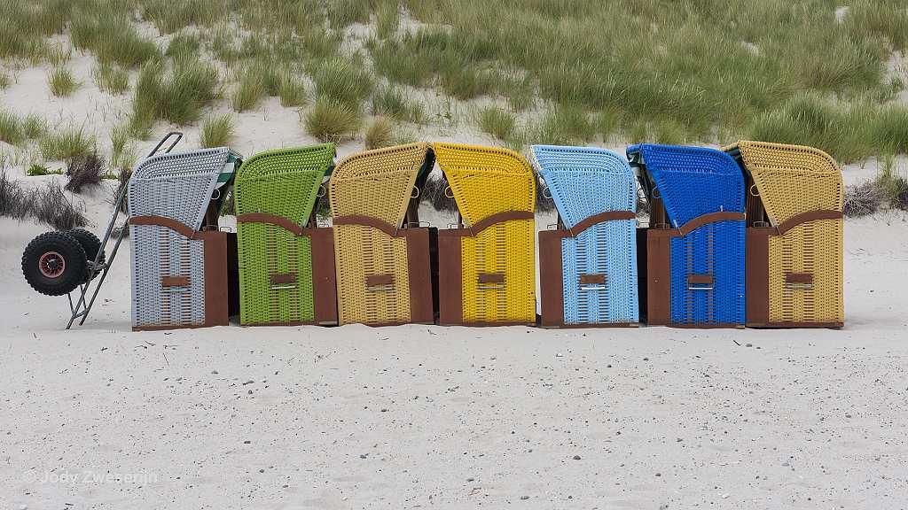 Strand op Düne