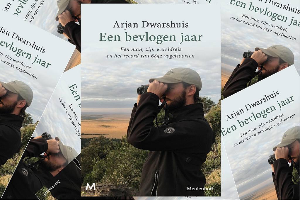 Boek Arjan Dwarshuis een bevlogen jaar