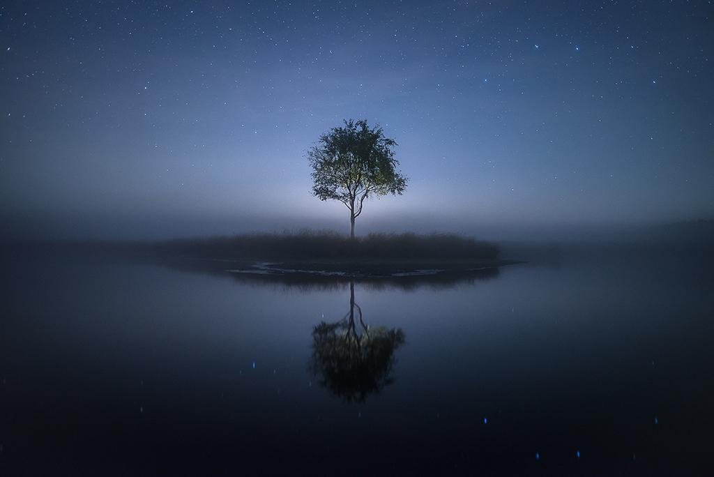 Duurswoude in de nacht