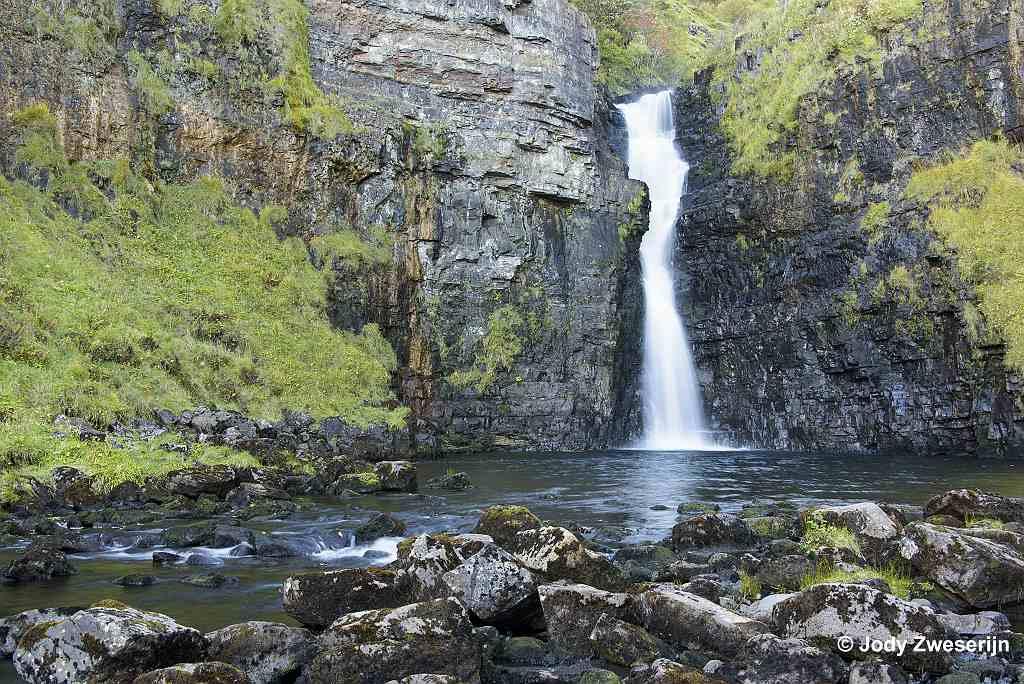 Schotland Isle of Skye, Lealt Falls