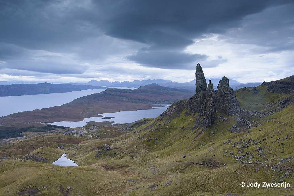 Schotland Isle of Skye, The Storr