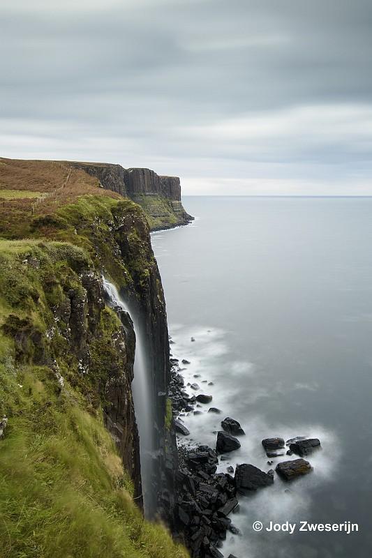 Schotland Isle of Skye, Mealt Falls & Kilt Rock