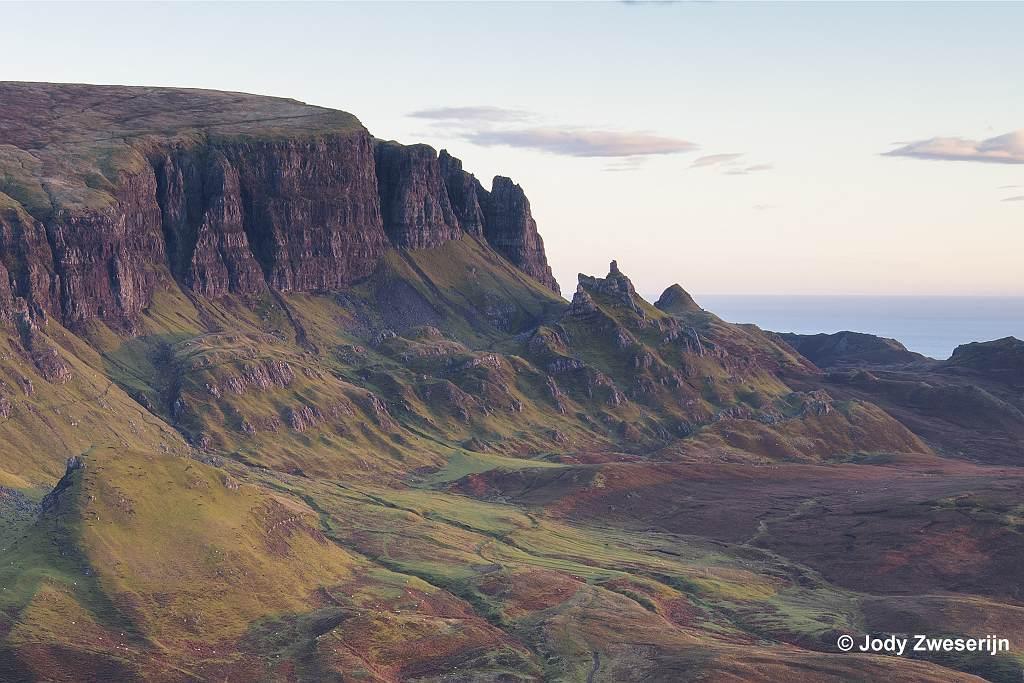 Schotland Isle of Skye, Quiraing