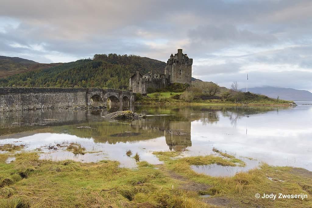 Schotland Isle of Skye, Eilean Donar Castle