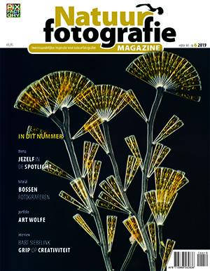 Natuurfotografie Magazine cover nr 6 2019