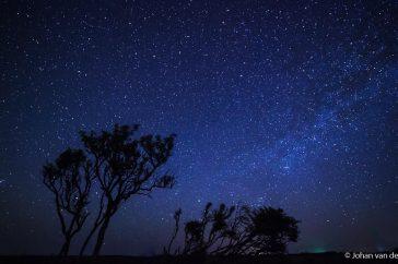 Heldere sterrenhemel op Schiermonnikoog