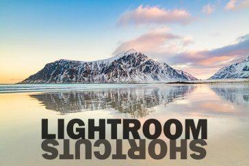Lightroom sneltoetsen