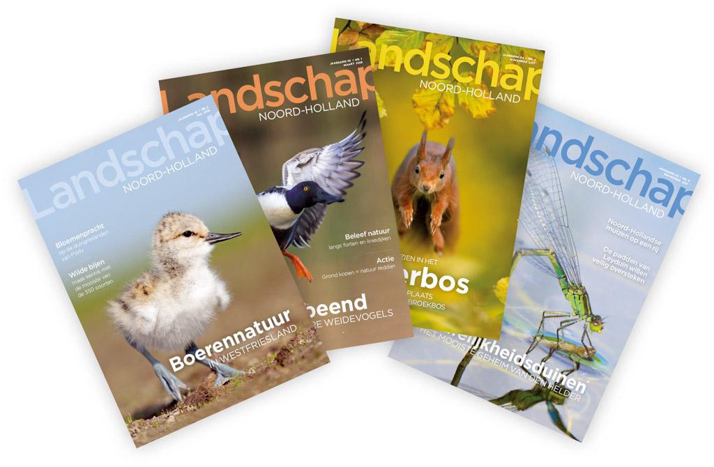Gratis magazine over Noord-Hollandse natuur