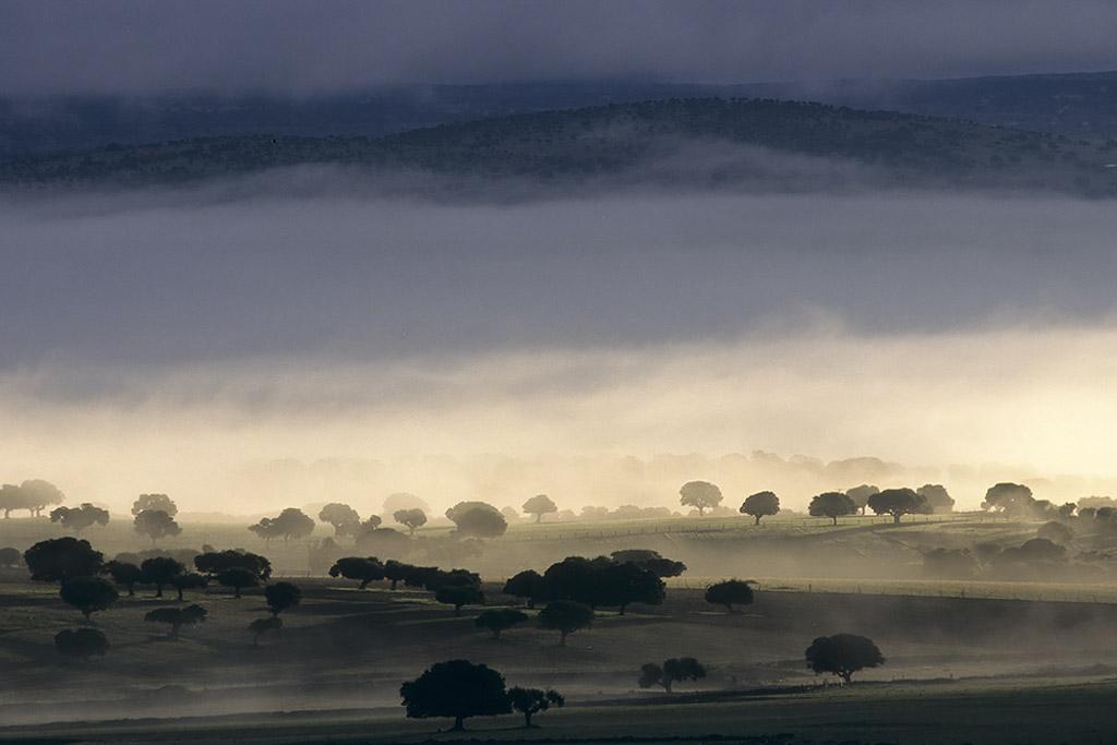Landschap in Spanje.