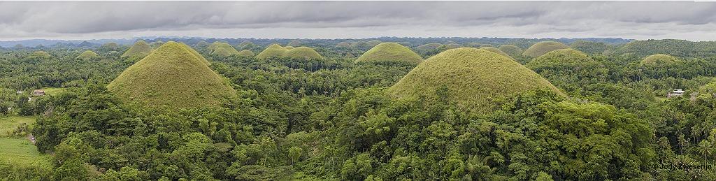 Chocolate Hills, Bohol, Filipijnen