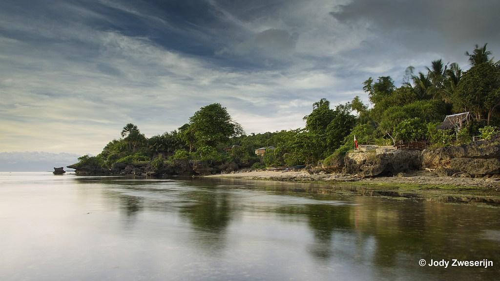 De zuidkust van Siquijor