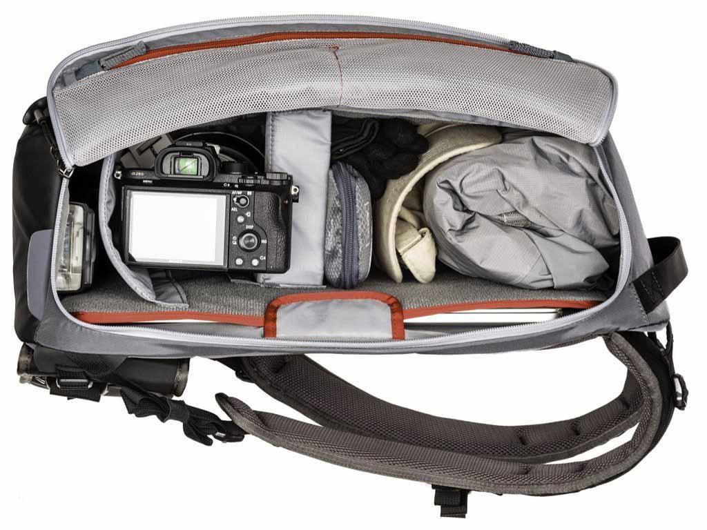 MindShift Photocross 15 camerarugzak interieur