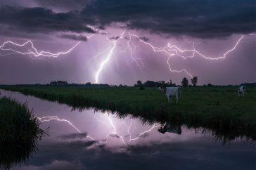 Nachtelijk onweer