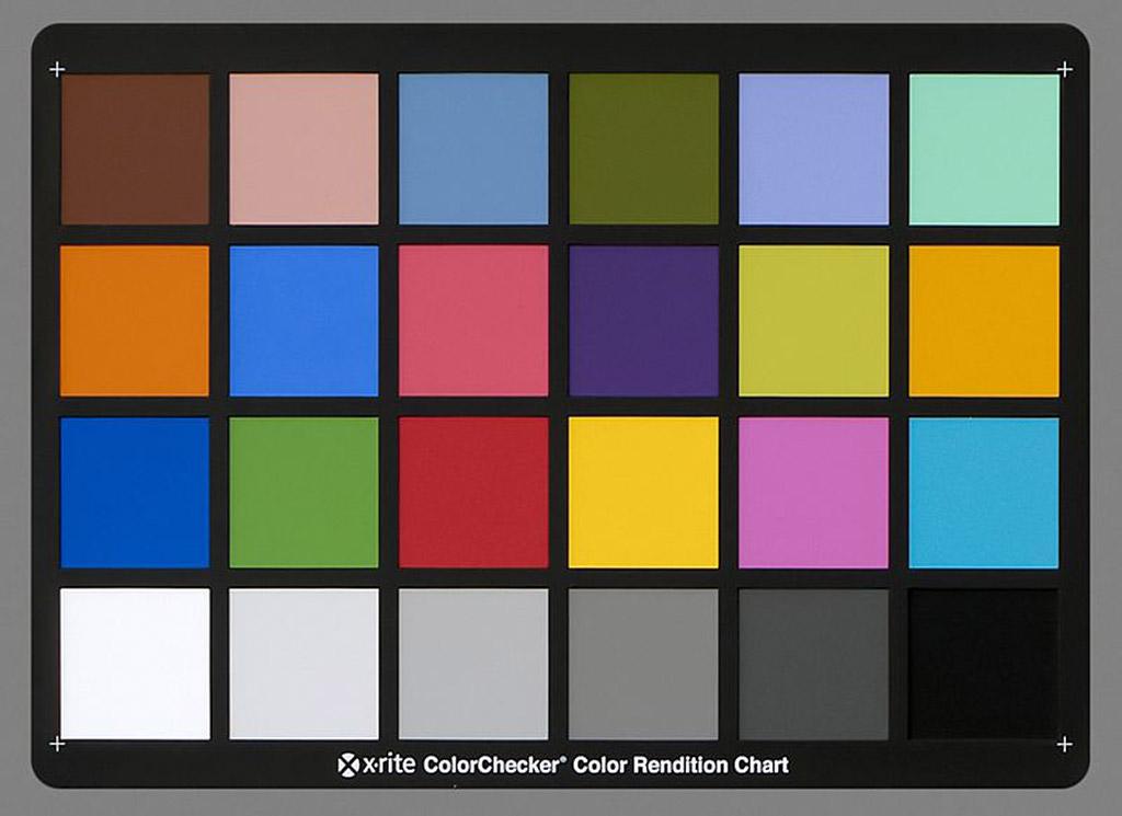 Werken met een Colorchecker