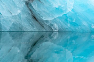 Intieme ijsreflectie