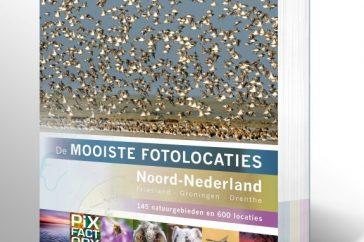 Cover De mooiste fotolocaties Noord-Nederland