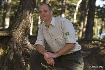 Boswachter Mark Kras