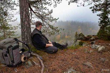 Struinen door de bossen in Finland