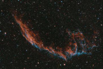 De Eastern veil nebula.