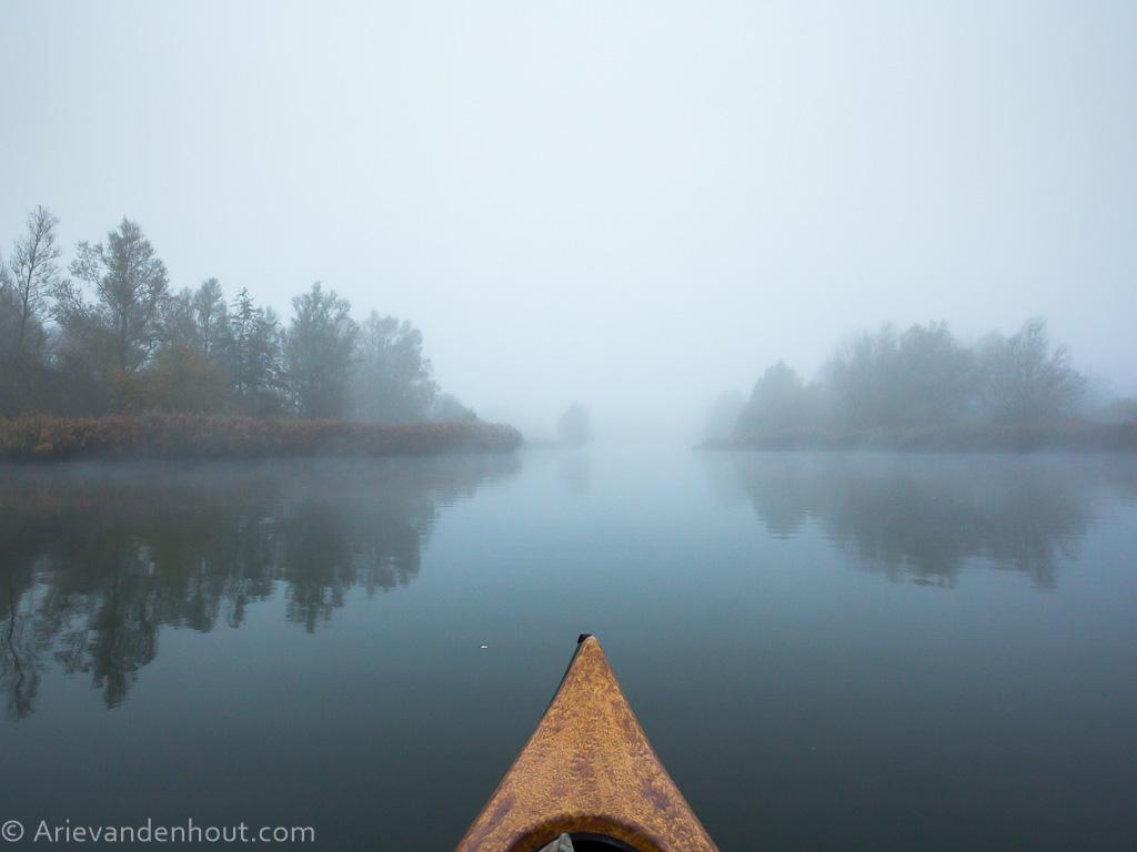 Winter kanotocht in de Biesbosch? Goed idee?