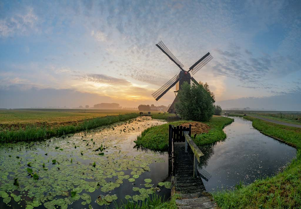De grootste wipmolen van Nederland